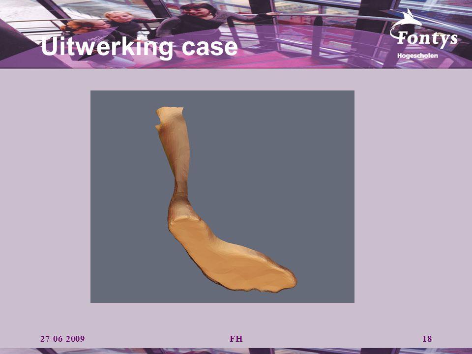 Uitwerking case 27-06-2009 FH
