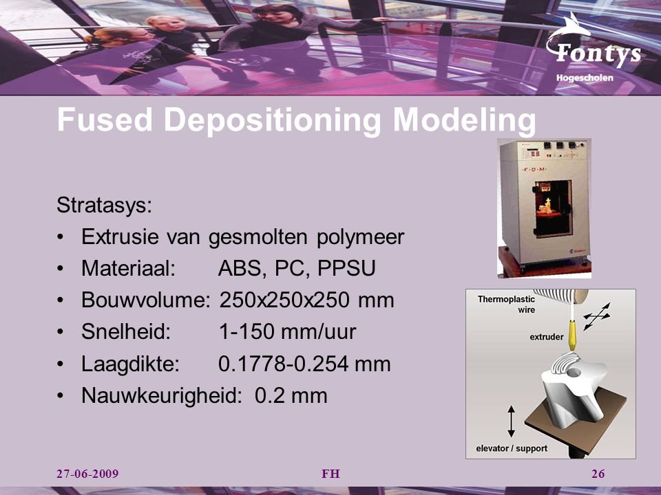 Fused Depositioning Modeling