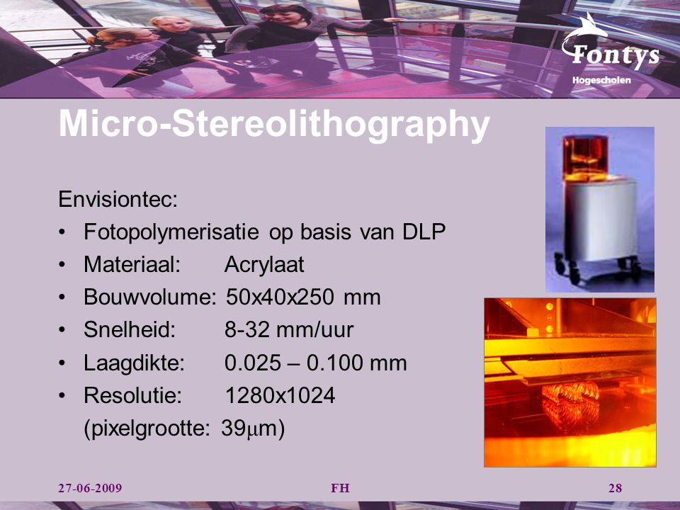 Micro-Stereolithography