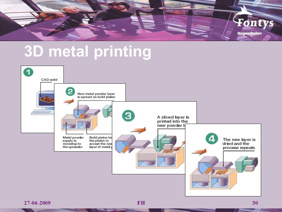3D metal printing 27-06-2009 FH
