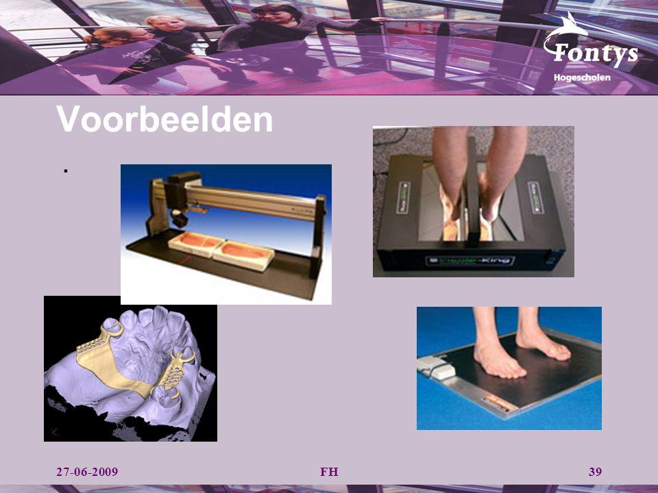 Voorbeelden . 27-06-2009 FH