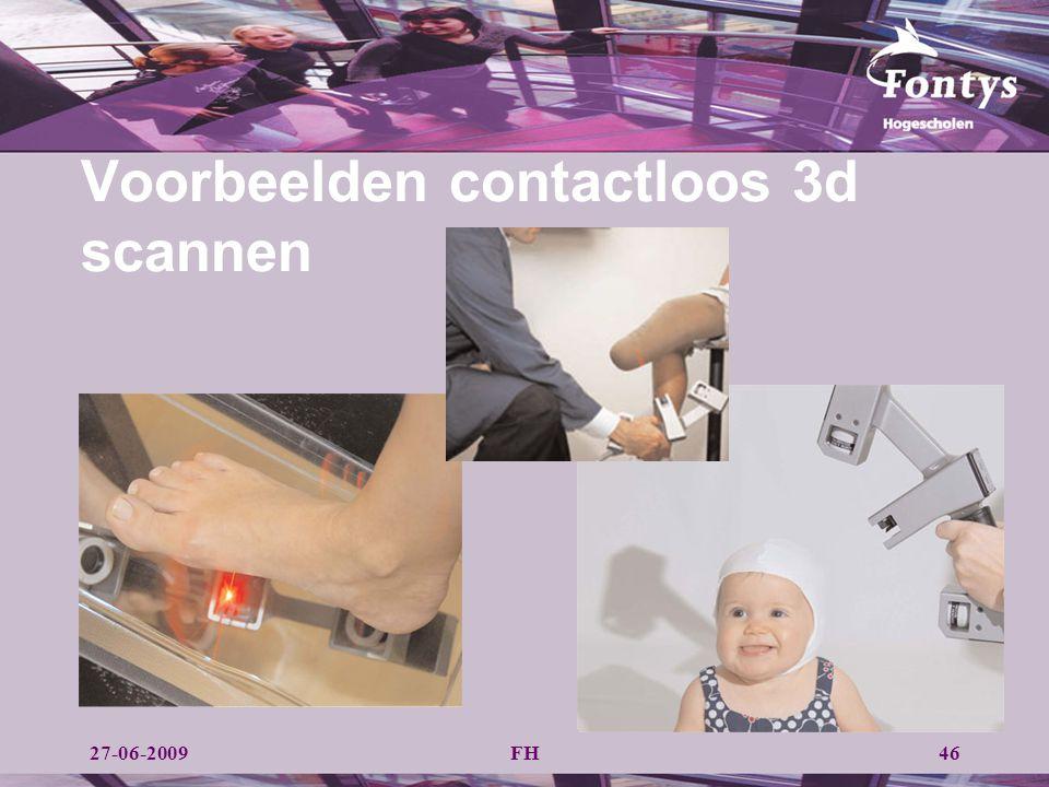 Voorbeelden contactloos 3d scannen