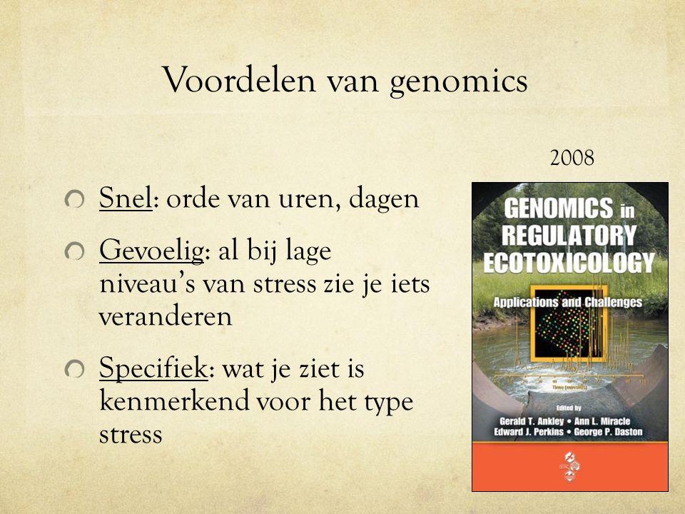 Voordelen van genomics