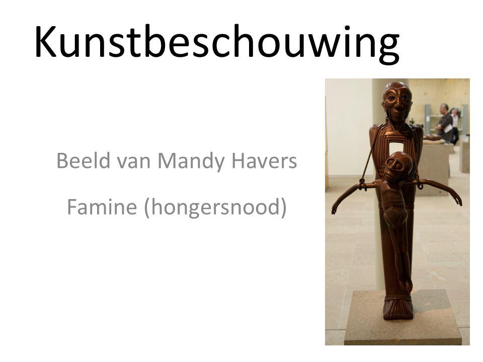 Beeld van Mandy Havers Famine (hongersnood)