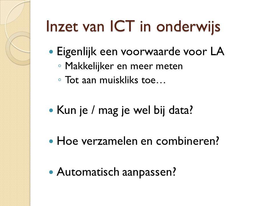 Inzet van ICT in onderwijs