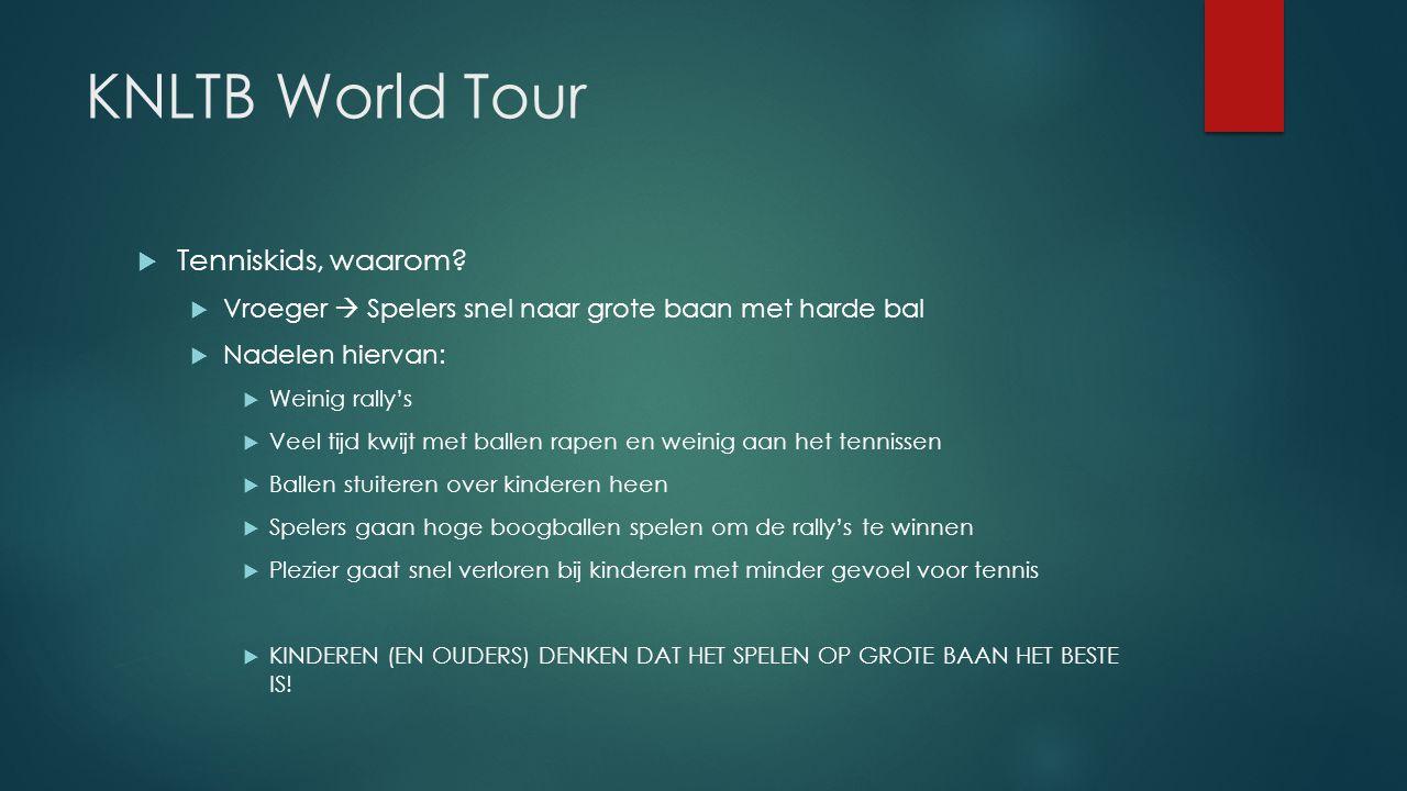 KNLTB World Tour Tenniskids, waarom