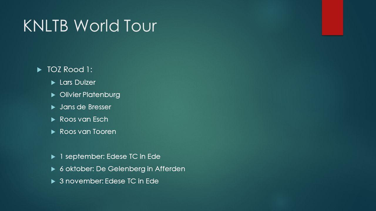 KNLTB World Tour TOZ Rood 1: Lars Duizer Olivier Platenburg
