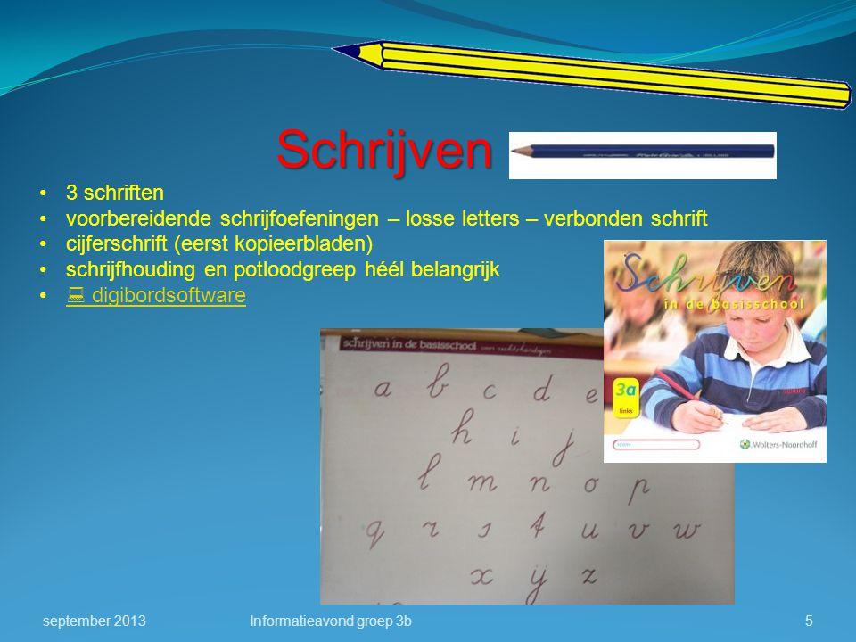 Schrijven 3 schriften. voorbereidende schrijfoefeningen – losse letters – verbonden schrift. cijferschrift (eerst kopieerbladen)