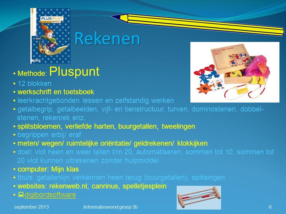 Rekenen Methode: Pluspunt 12 blokken werkschrift en toetsboek