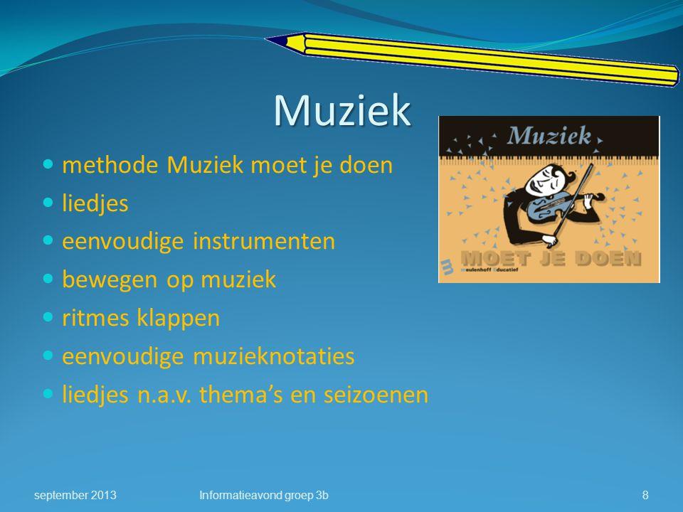 Muziek methode Muziek moet je doen liedjes eenvoudige instrumenten