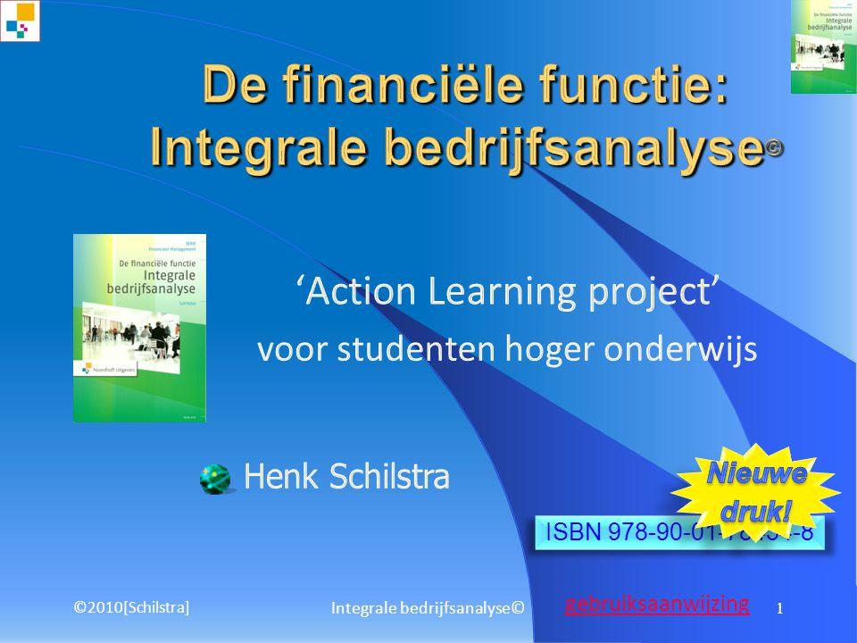 De financiële functie: Integrale bedrijfsanalyse©
