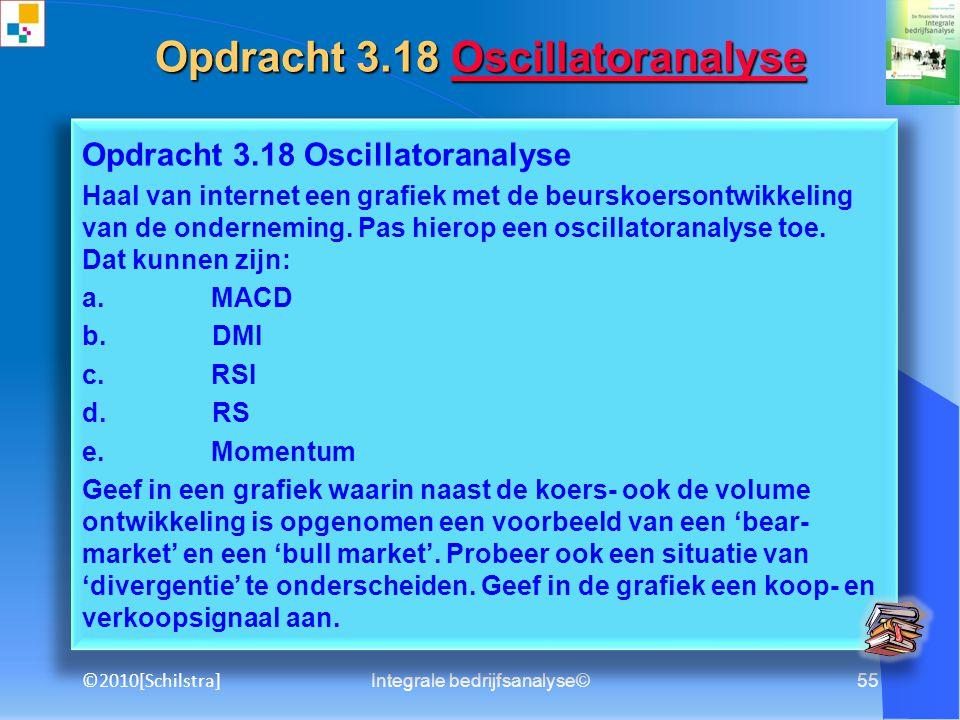 Opdracht 3.18 Oscillatoranalyse
