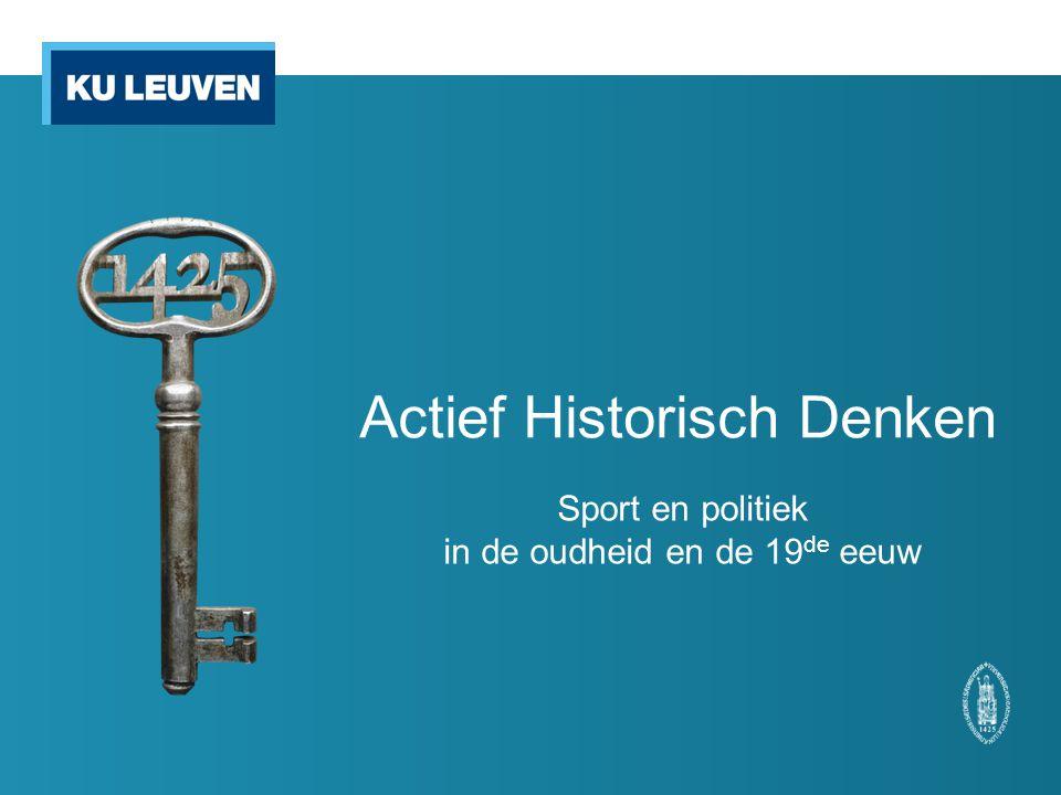 Actief Historisch Denken