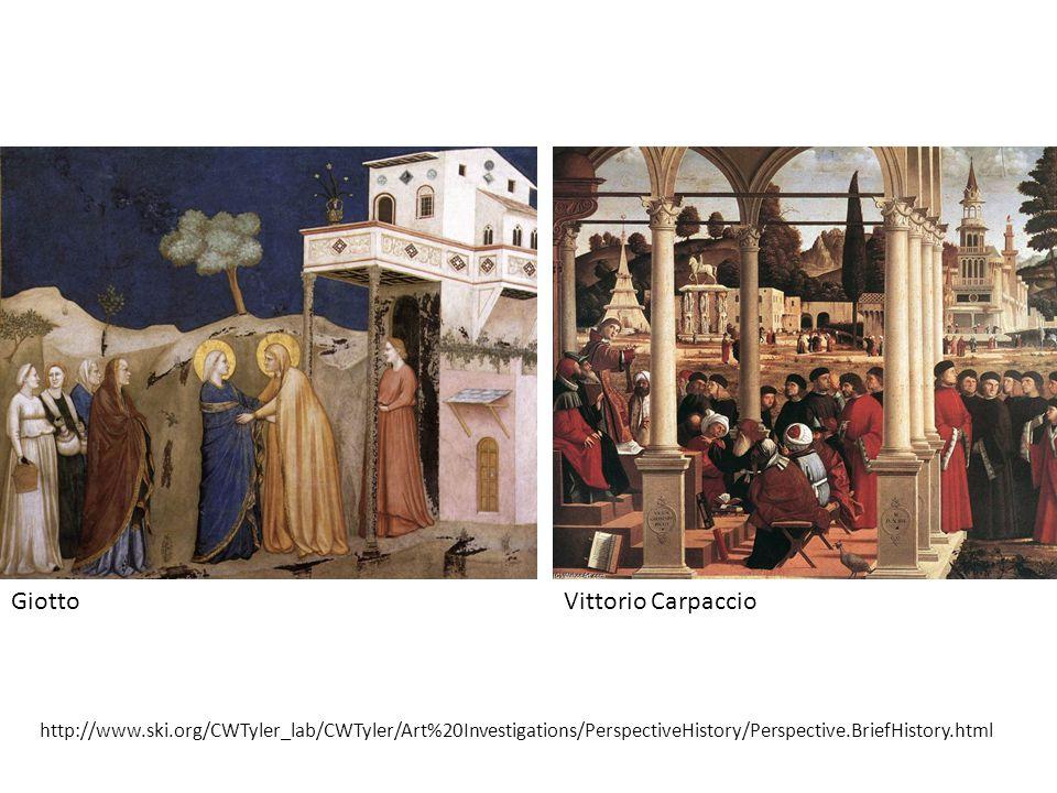 Giotto Vittorio Carpaccio