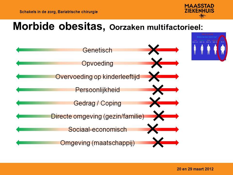 Morbide obesitas, Oorzaken multifactorieel: