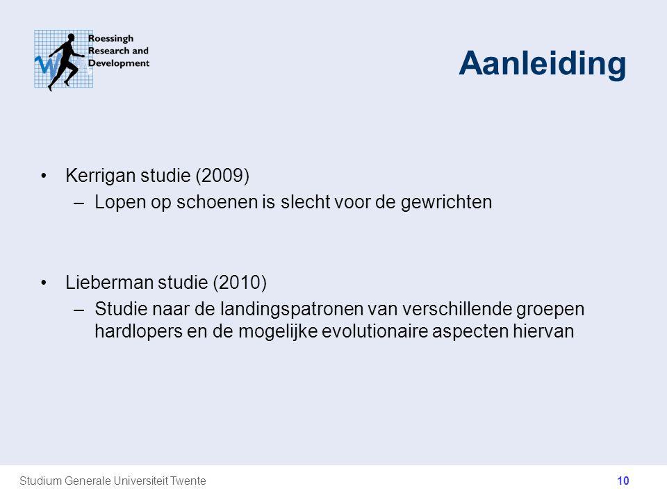 Aanleiding Kerrigan studie (2009)