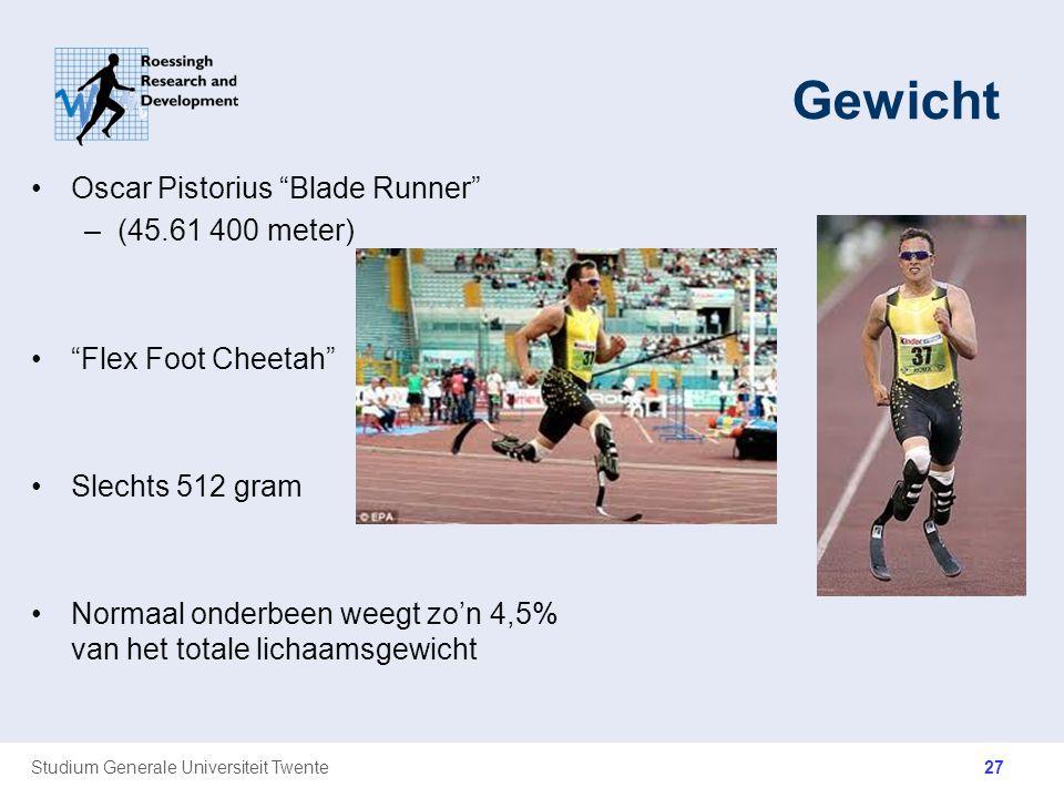 Gewicht Oscar Pistorius Blade Runner (45.61 400 meter)