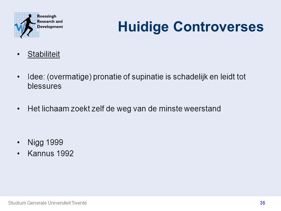 Huidige Controverses Stabiliteit