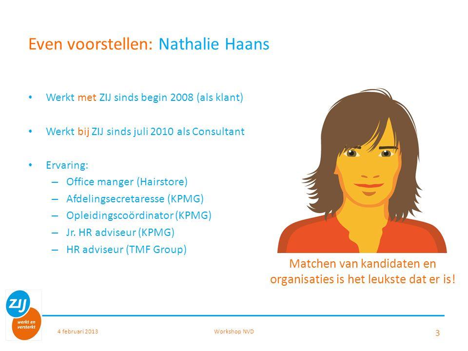Even voorstellen: Nathalie Haans