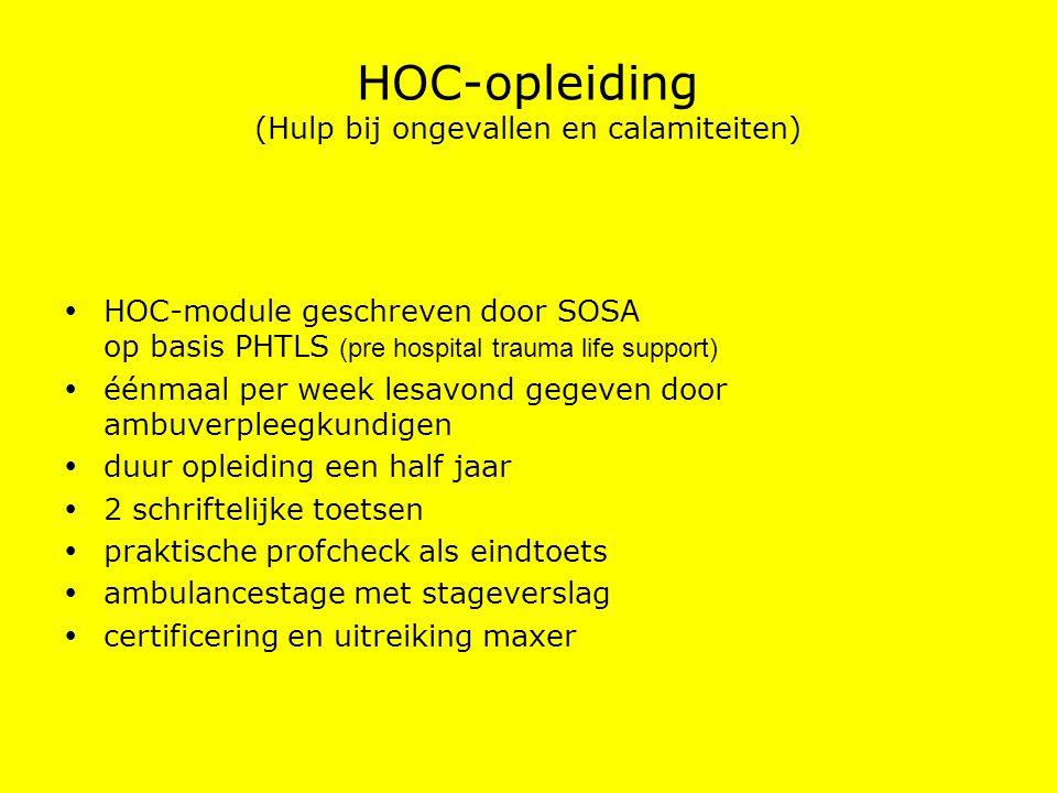 HOC-opleiding (Hulp bij ongevallen en calamiteiten)
