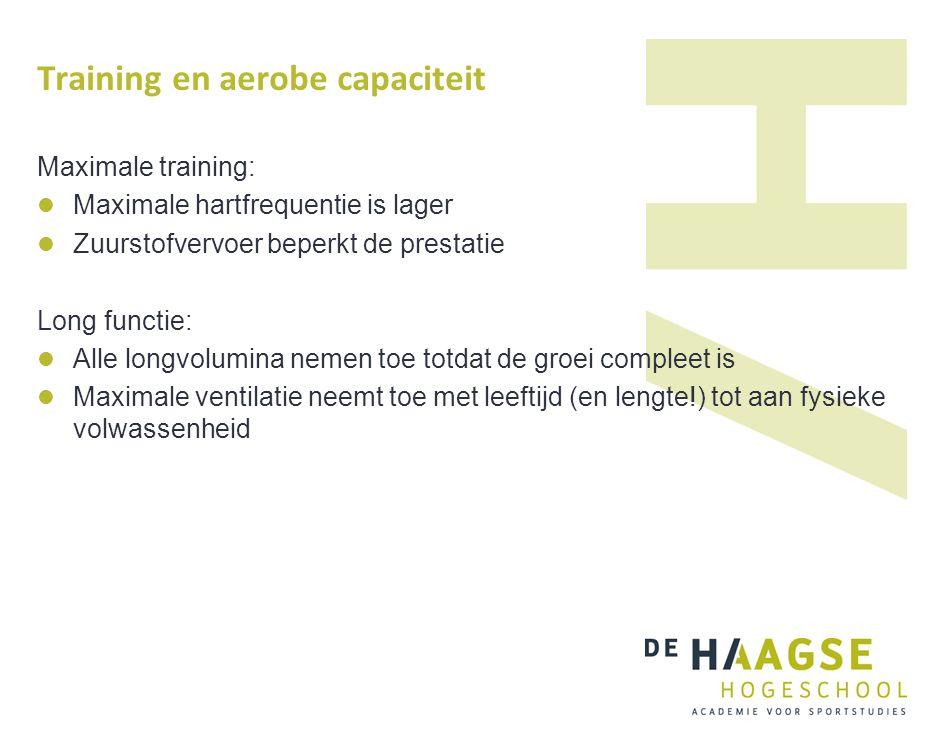 Training en aerobe capaciteit