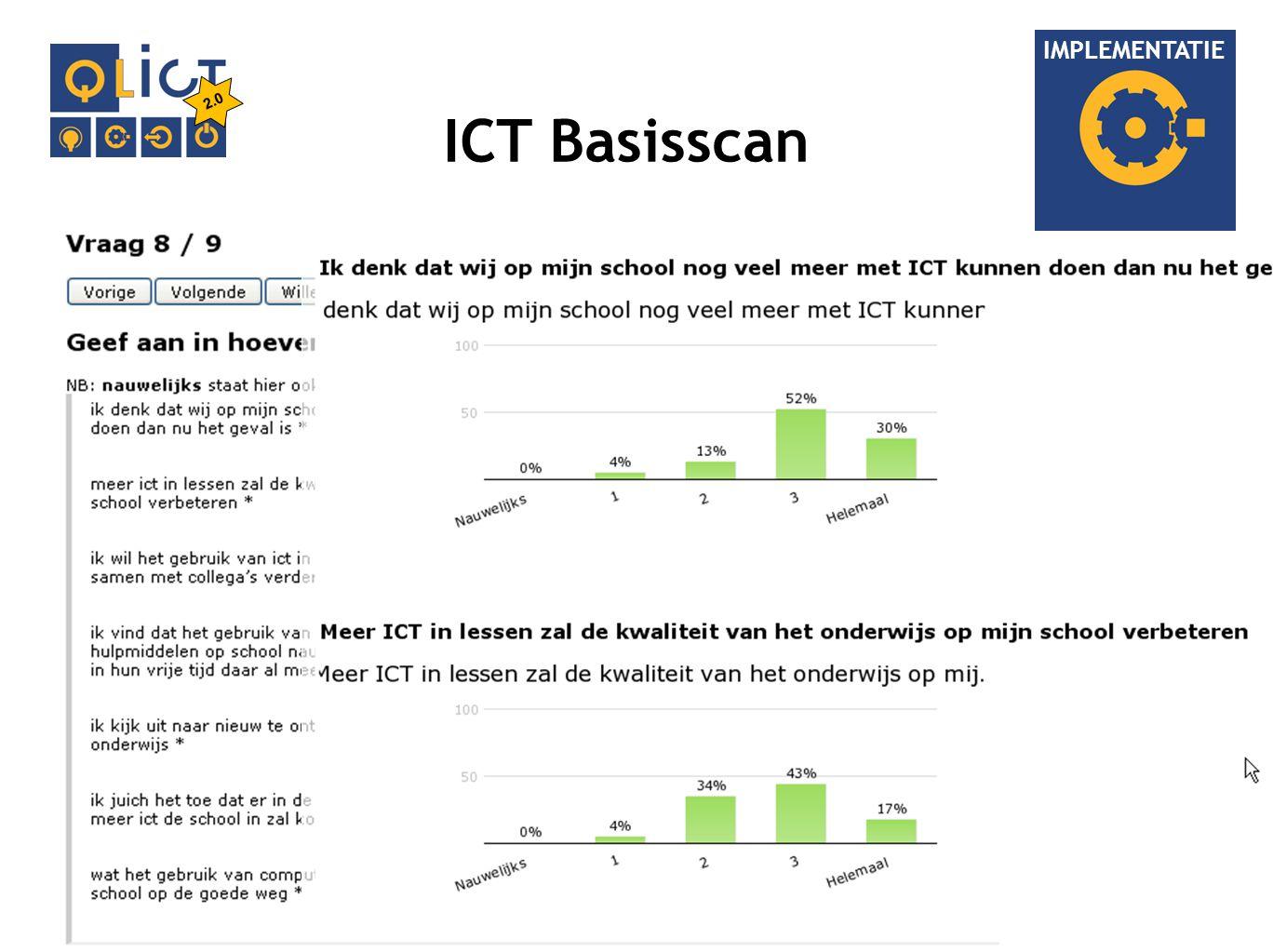 IMPLEMENTATIE ICT Basisscan 2.0