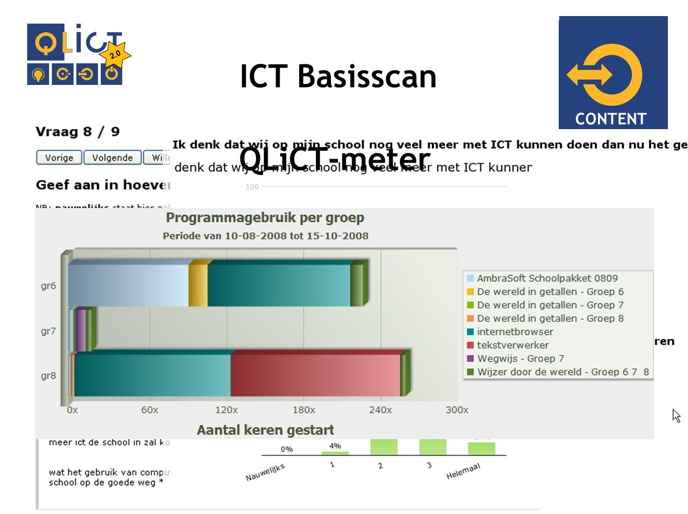 IMPLEMENTATIE ICT Basisscan CONTENT QLiCT-meter 2.0