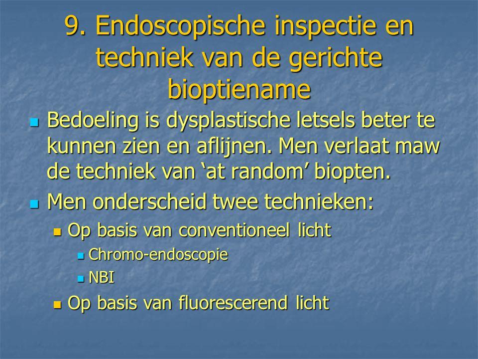 9. Endoscopische inspectie en techniek van de gerichte bioptiename