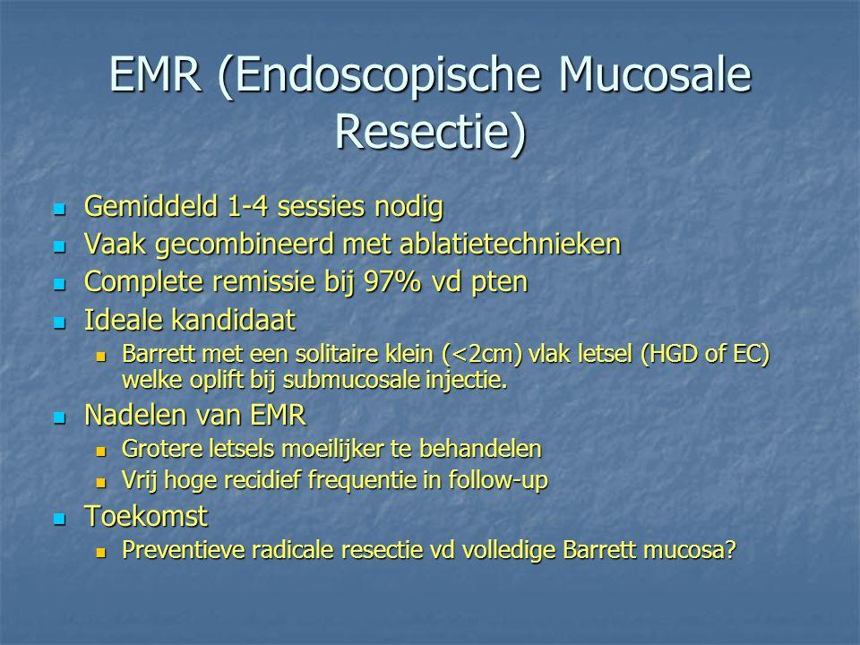 EMR (Endoscopische Mucosale Resectie)
