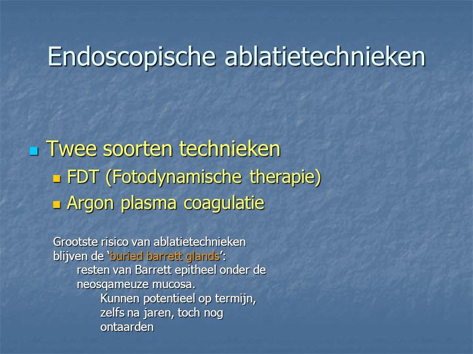 Endoscopische ablatietechnieken