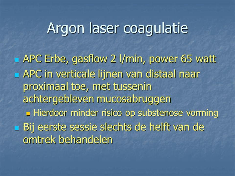 Argon laser coagulatie