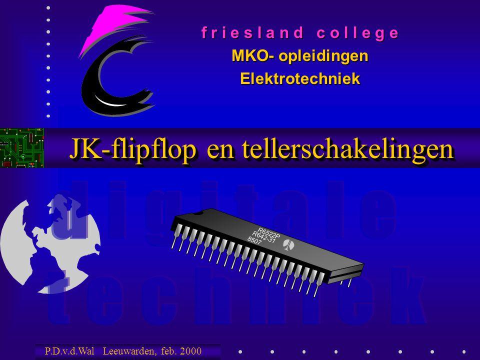 JK-flipflop en tellerschakelingen
