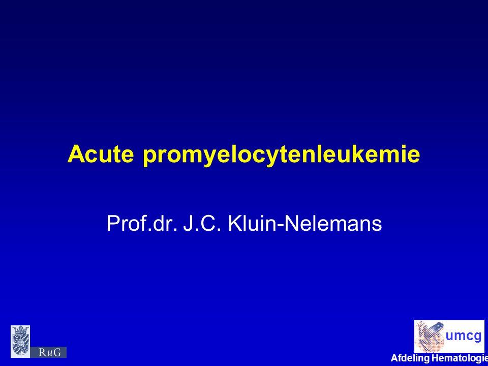 Acute promyelocytenleukemie