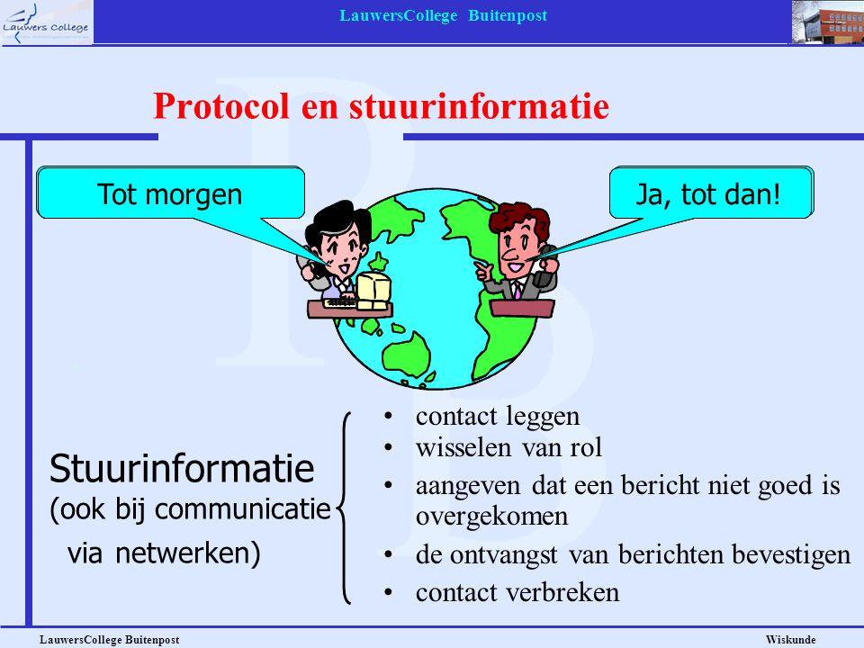 Protocol en stuurinformatie
