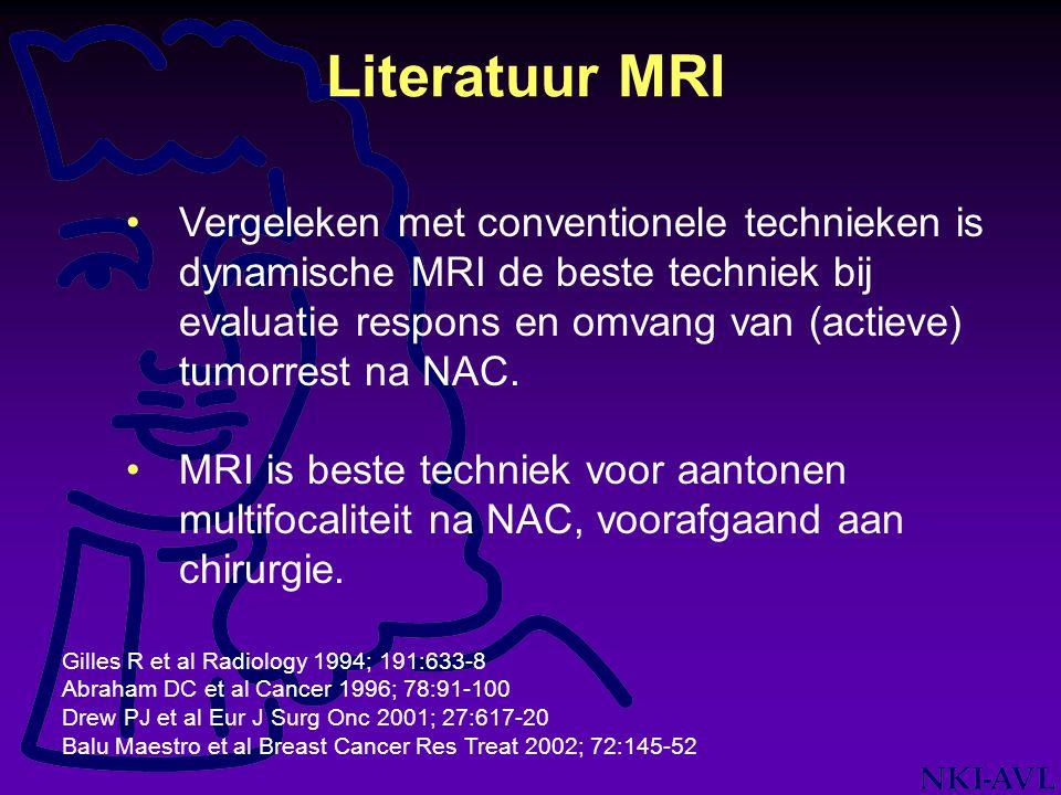 Literatuur MRI