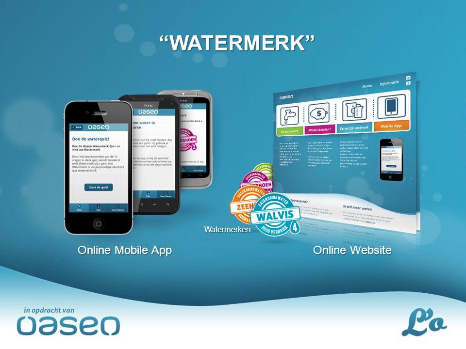 WATERMERK Watermerken Online Mobile App Online Website