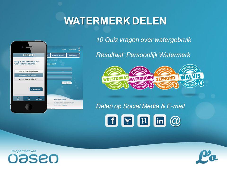 @ WATERMERK DELEN 10 Quiz vragen over watergebruik