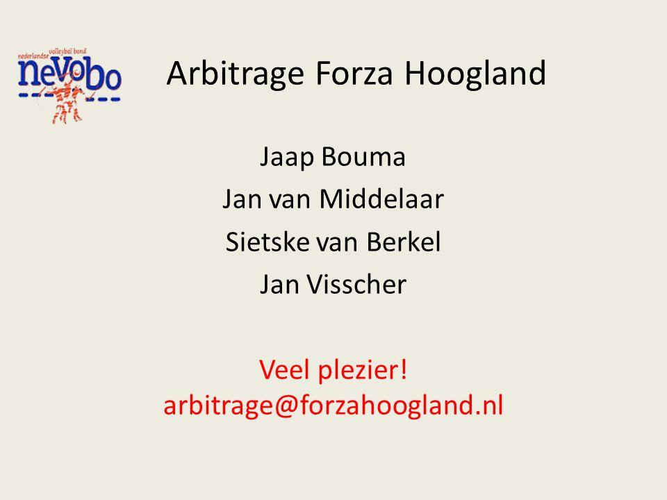 Arbitrage Forza Hoogland