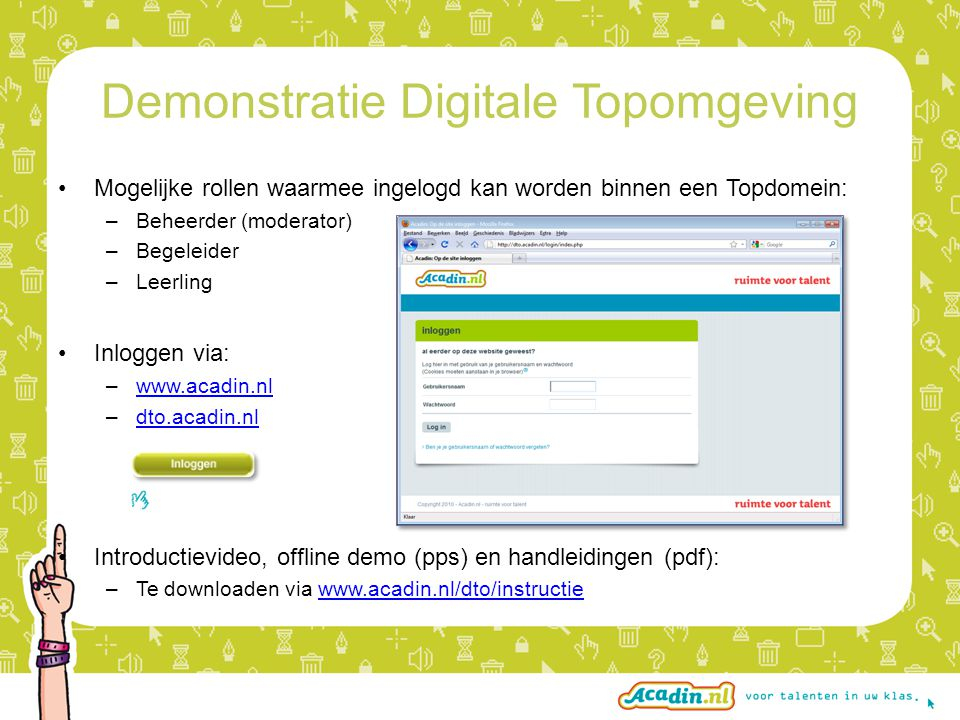 Demonstratie Digitale Topomgeving