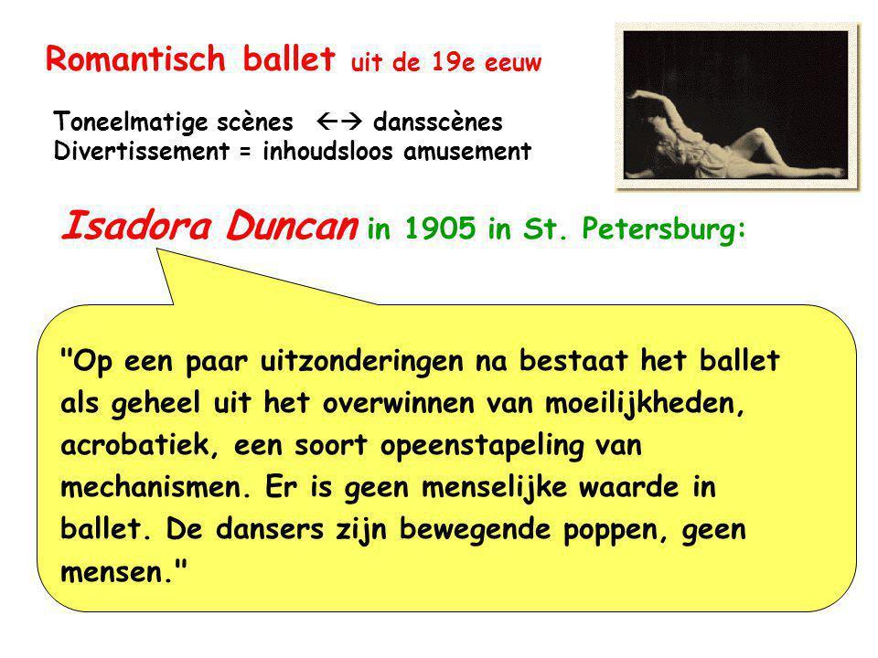 Romantisch ballet uit de 19e eeuw