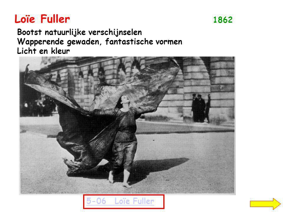Loïe Fuller 1862 Bootst natuurlijke verschijnselen