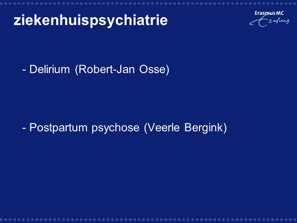 ziekenhuispsychiatrie