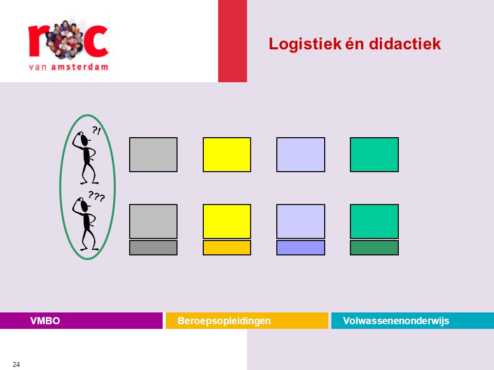 Logistiek én didactiek