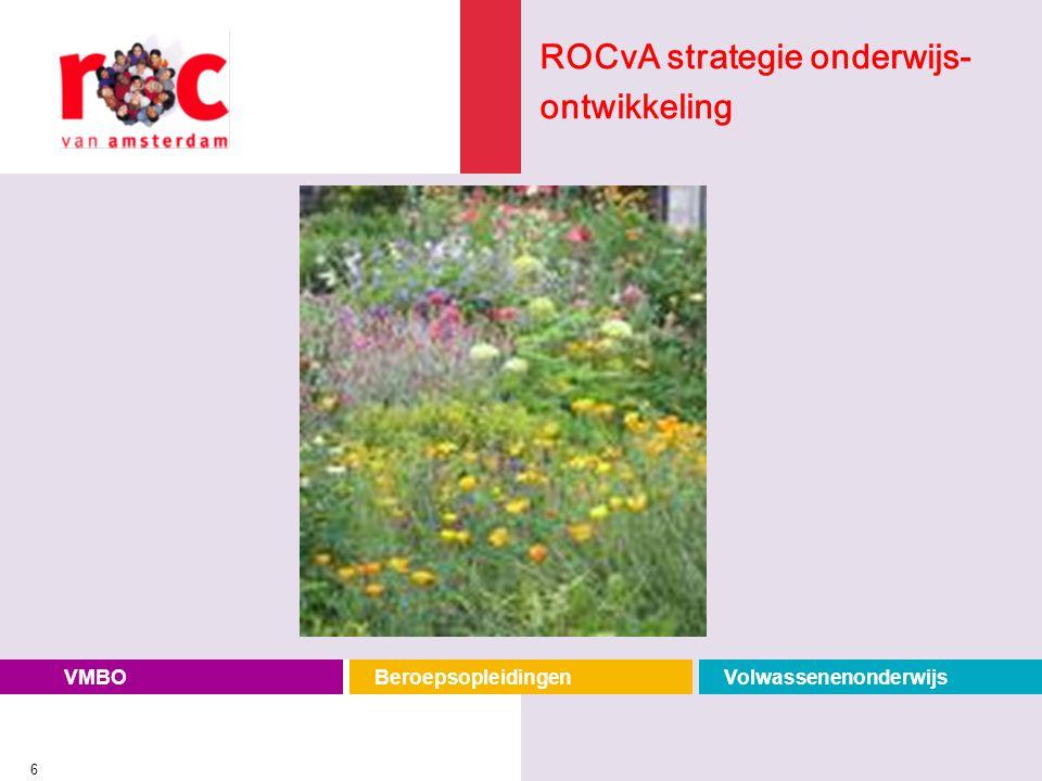 ROCvA strategie onderwijs-