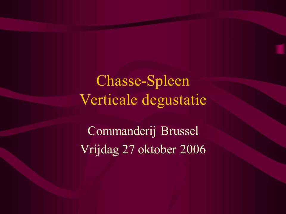 Chasse-Spleen Verticale degustatie