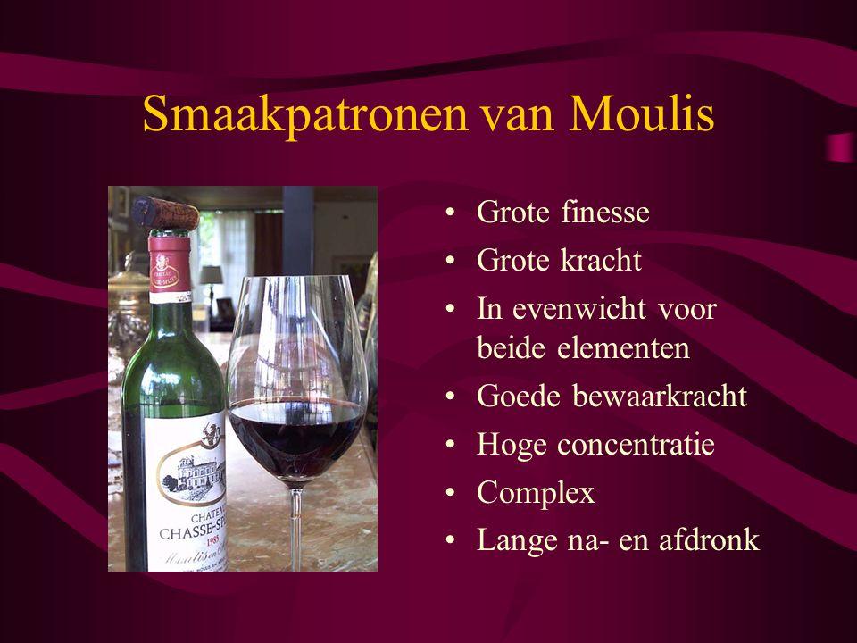 Smaakpatronen van Moulis