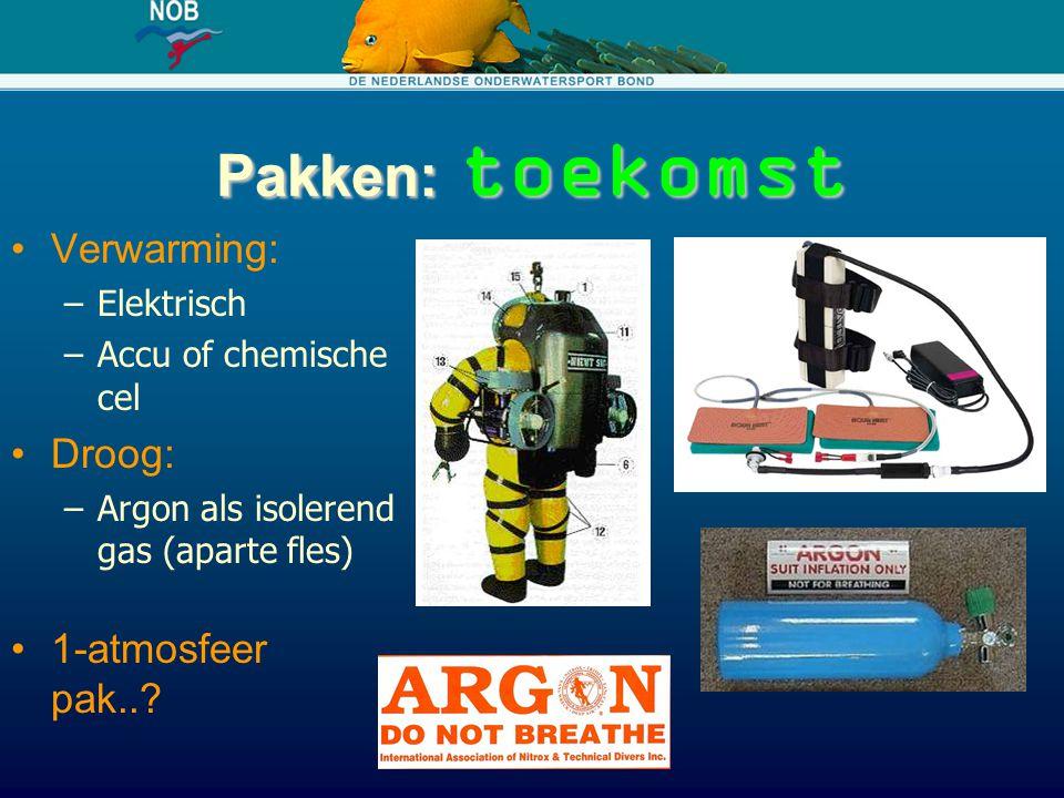 Pakken: toekomst Verwarming: Droog: 1-atmosfeer pak.. Elektrisch