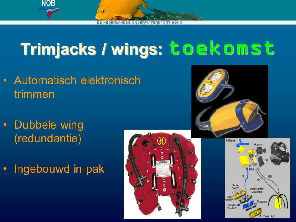 Trimjacks / wings: toekomst