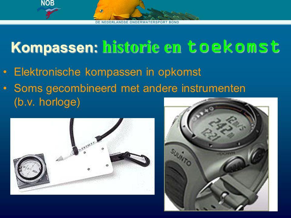 Kompassen: historie en toekomst