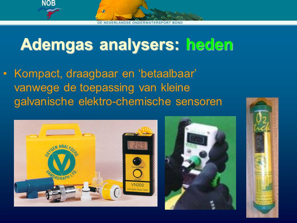 Ademgas analysers: heden